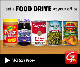 Host a Food Drive at your office