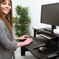 Victor Technologies High Rise Stand-Up Desk Converter
