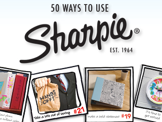 Sharpie Turns the BIG 5-0