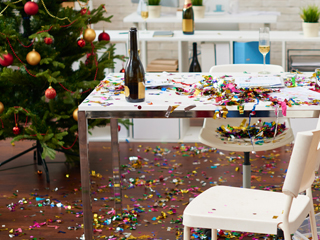 Cleaning Tricks for Holiday Parties