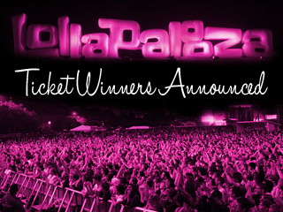Lollapalooza Tickets Winner