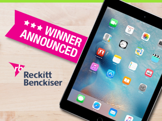Lysol iPad Air 2 Winner Announced