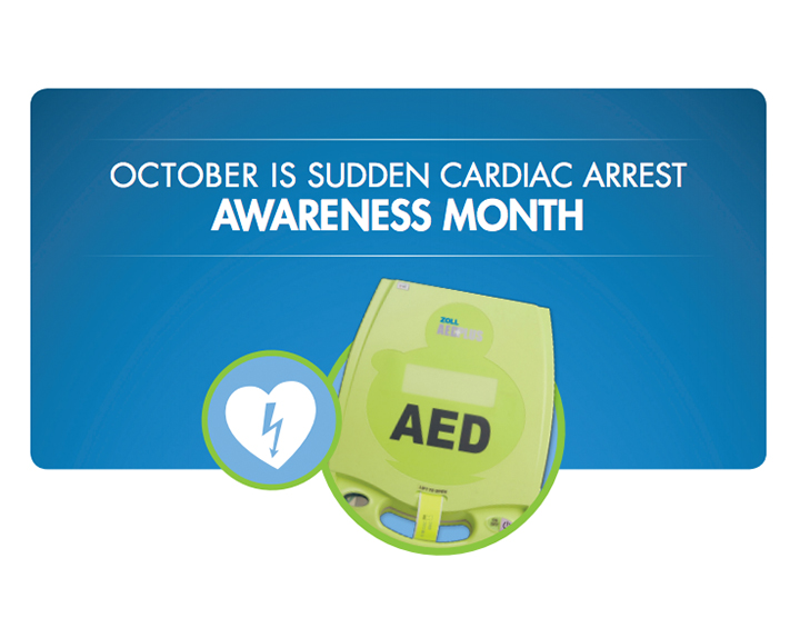 October is Sudden Cardiac Awareness (SCA) Month