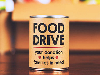 Hold A Summer Office Food Drive