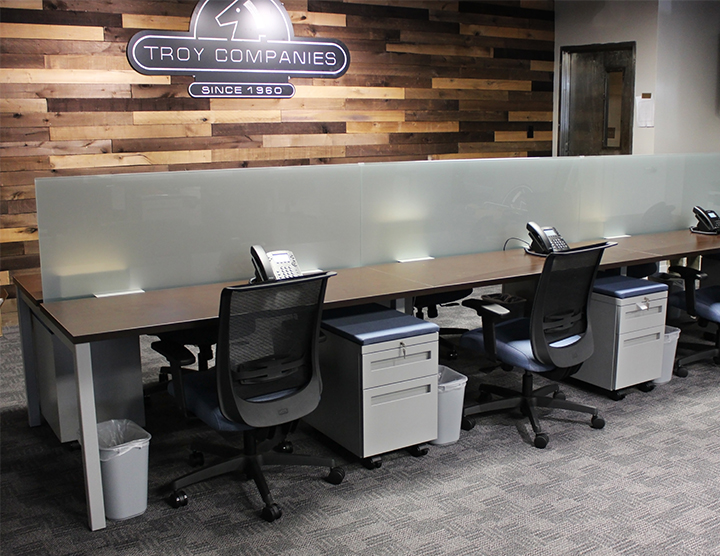 Troy Companies Non-Traditional Cubicles