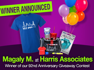 92nd Anniversary Giveaway