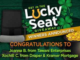 Lucky Seat Giveaway
