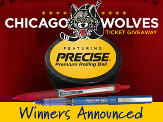 Winners Announced: Pilot's Chicago Wolves Tickets
