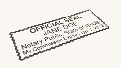 Notary Stamps