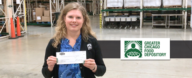4th Quarter of 2017 Check Presentation: Greater Chicago Food Depository